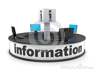 Information Desk Clipart.