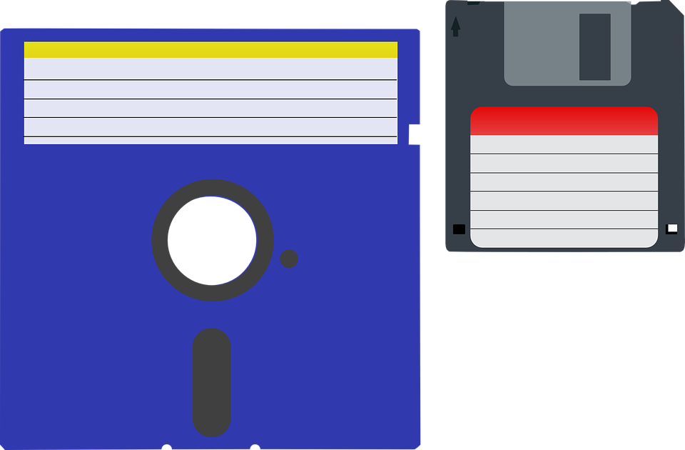 Free vector graphic: Dos, Disk, Floppy, Information.