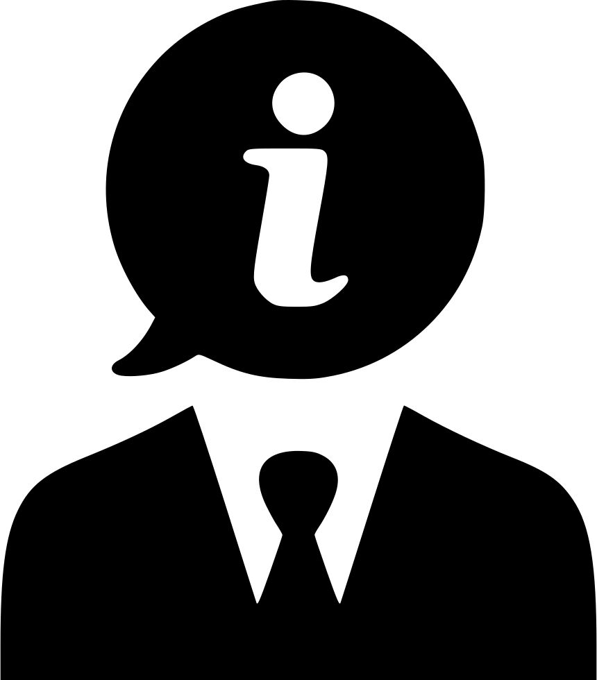 Info Man Information Help Support User Svg Png Icon Free Download.