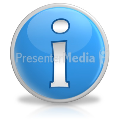 Information Button Symbol Icon.