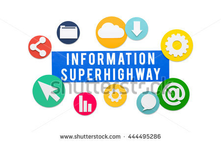 Information Superhighway Stock Photos, Royalty.