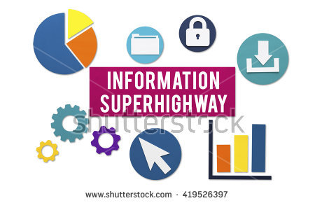 Information Super Highway Stock Photos, Royalty.