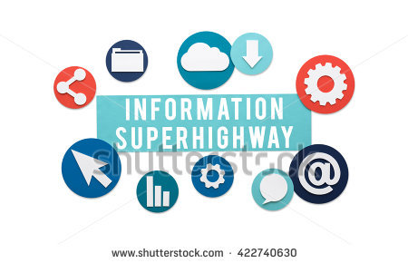 "information Superhighway"" Stock Photos, Royalty."