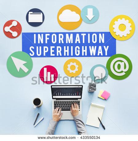 Information Superhighway Stock Photos, Royalty.