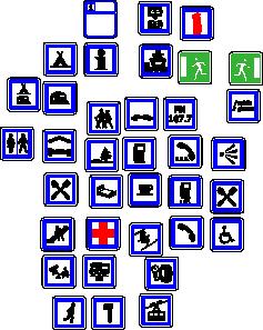 Information Symbols Signs clip art Free Vector / 4Vector.