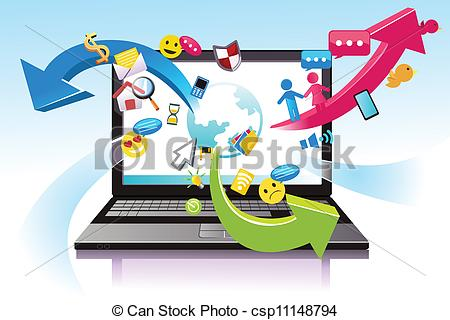 Information technology clip art.