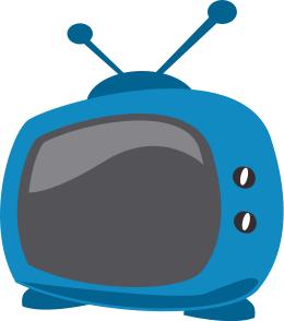 Cartoon Tv Clip Art Download.