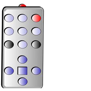 Simple Remote Control clipart, cliparts of Simple Remote Control.