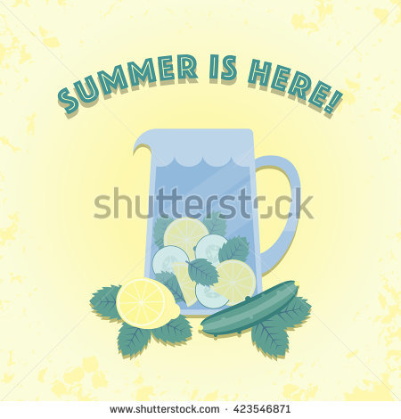 Summer Is Here Stock Photos, Royalty.