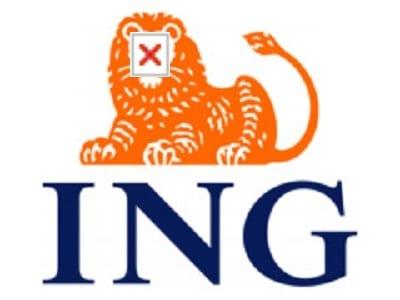ING logo.