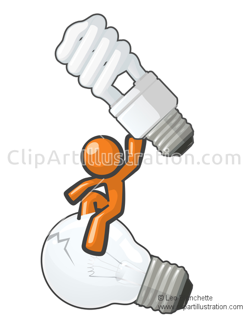 ClipArt Illustration of Ant Utilizing Invention to Fly.