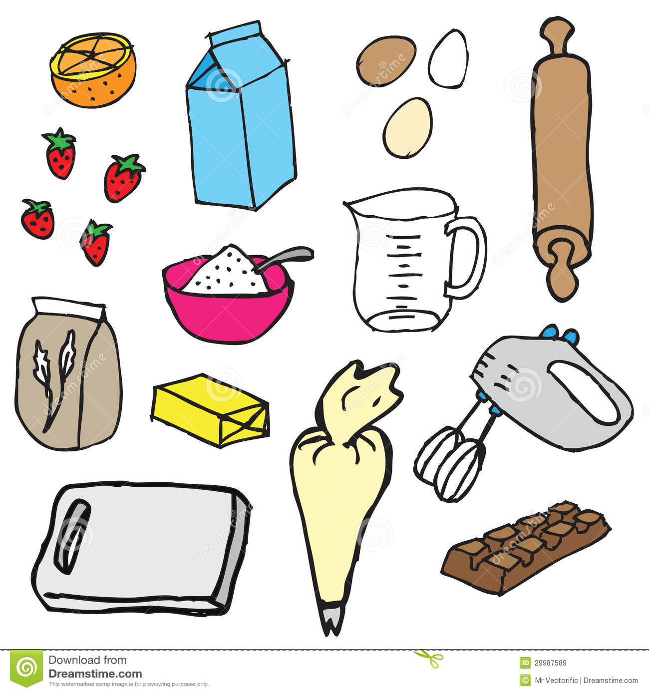 Ingredient Clipart.