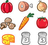 Food ingredients Clip Art EPS Images. 52,137 food ingredients.