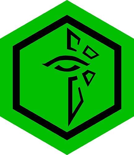 Ingress Enlightened Eye Hexagon 03.