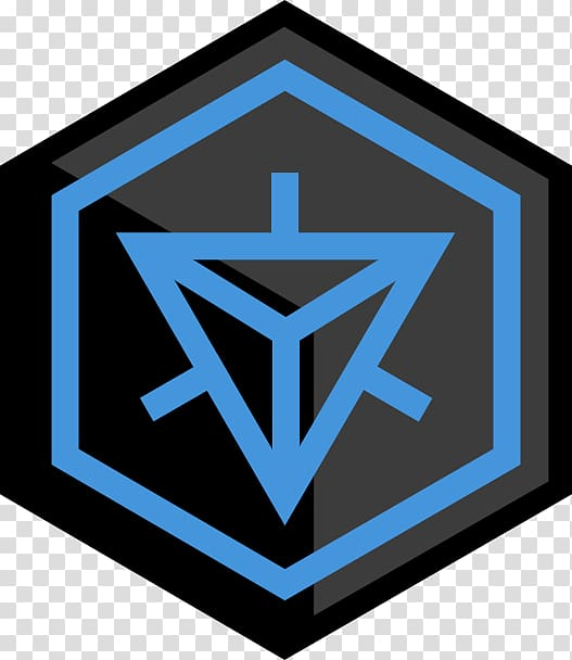 Ingress Logo Symbol, Ingress Resistance transparent.