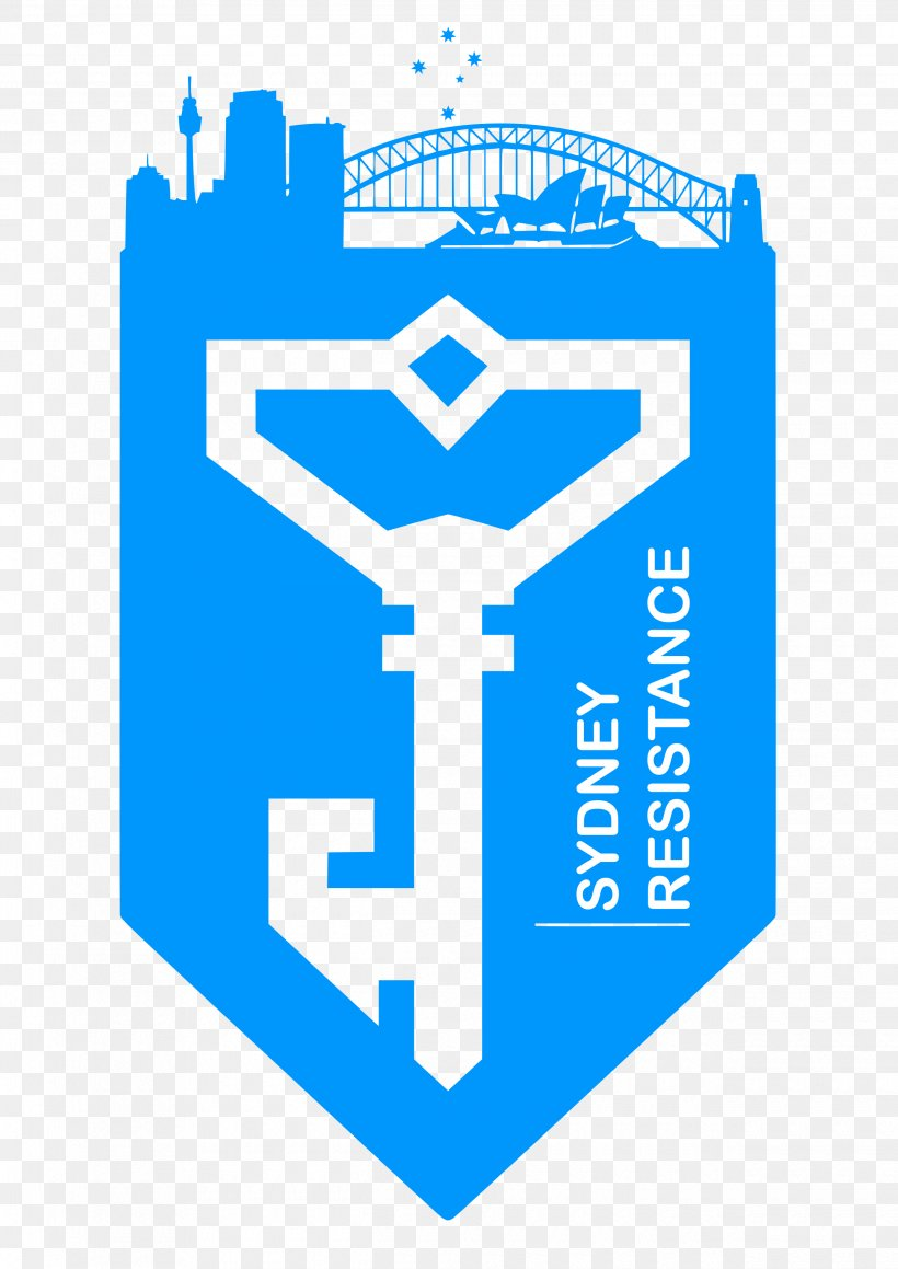 Ingress Resistance: Fall Of Man Logo Decal Niantic, PNG.