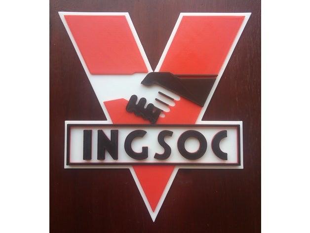1984 Ingsoc logo by Kvant.