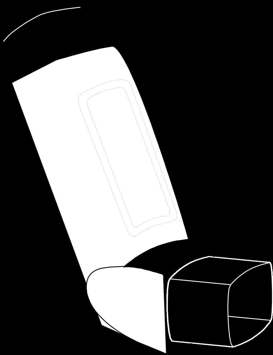 Inhalation Clipart.