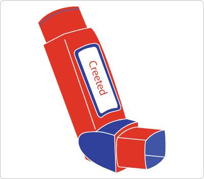 Inhaler Clip Art.