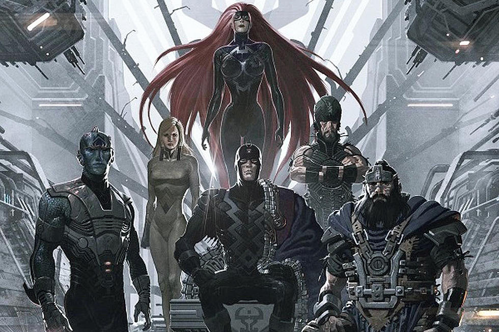Marvel\'s \'The Inhumans\' Gets a Shiny New Logo Tease.
