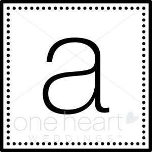 Initial Monogram A Clipart.