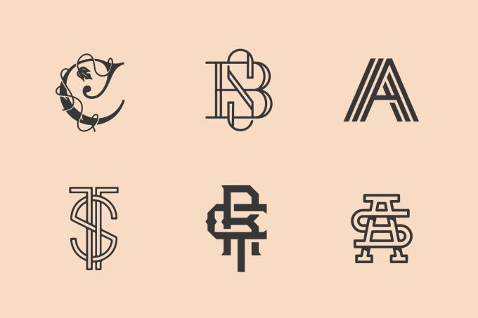 design initials monogram logo in 24 hours.