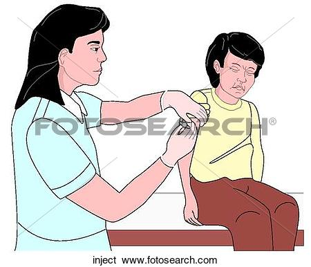 Stock Illustration of inject.