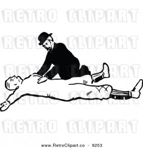 Injured Body Clipart.
