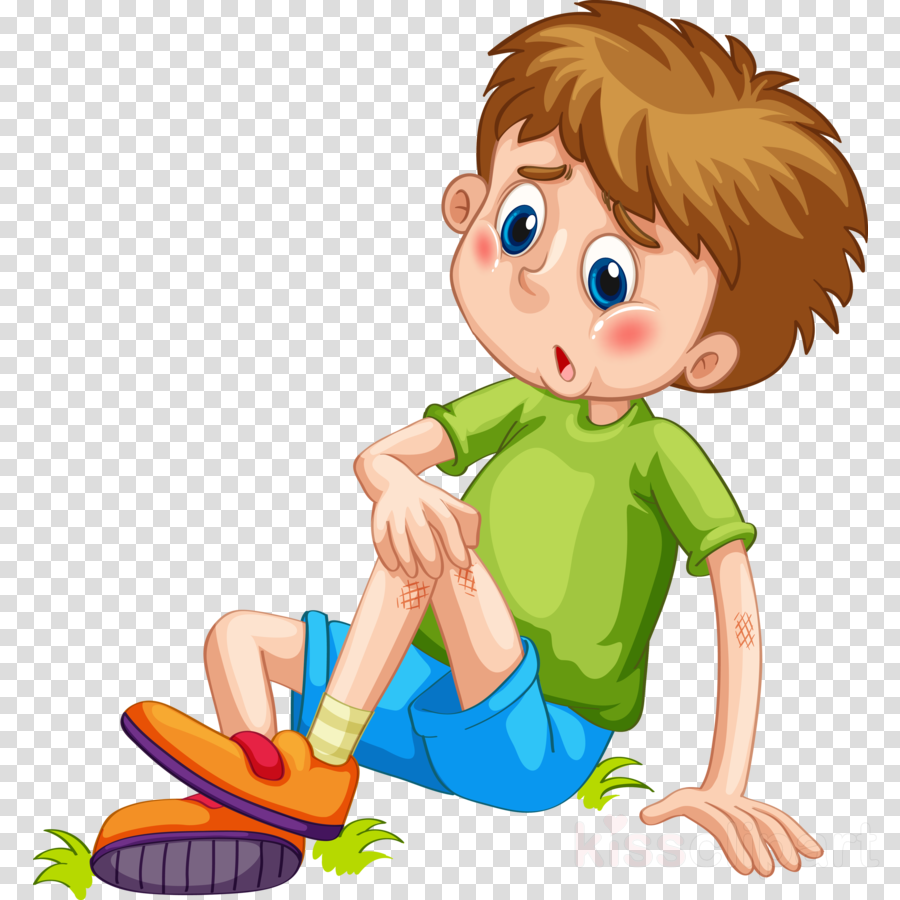 boy Injured clipart.