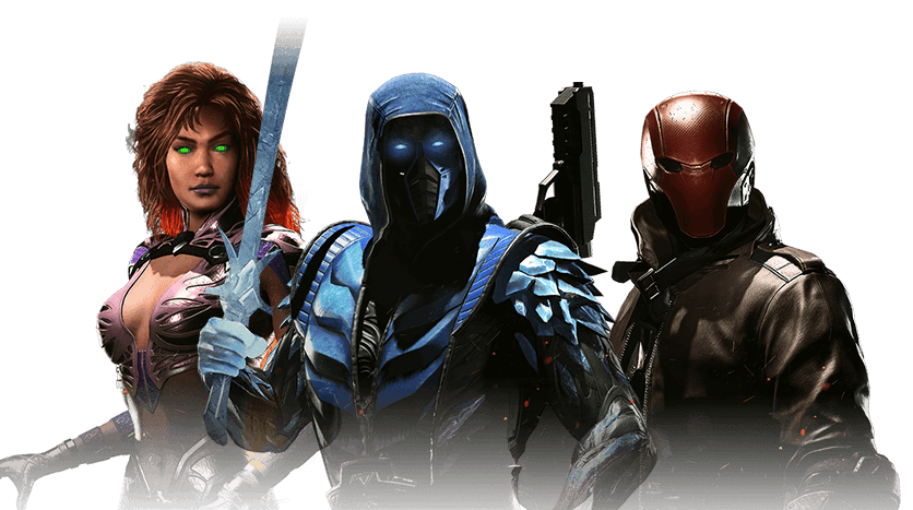 Injustice 2 DLC Characters.