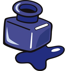 Ink pot clipart.