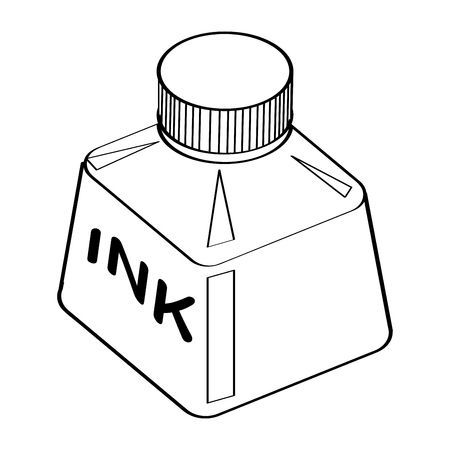 Ink pot clipart black and white 3 » Clipart Portal.
