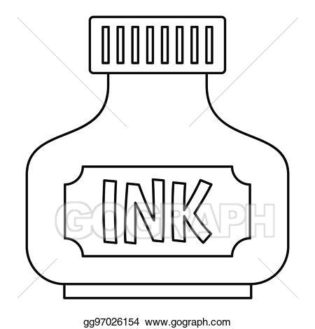 Ink pot clipart black and white 4 » Clipart Portal.
