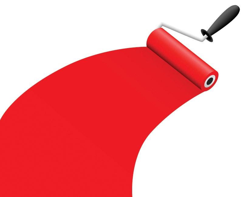 Vector paint Free Vector / 4Vector.