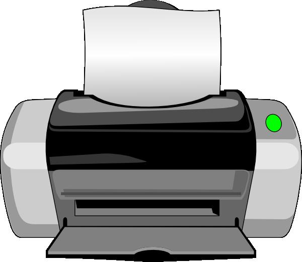 Inkjet Printer Clip Art at Clker.com.