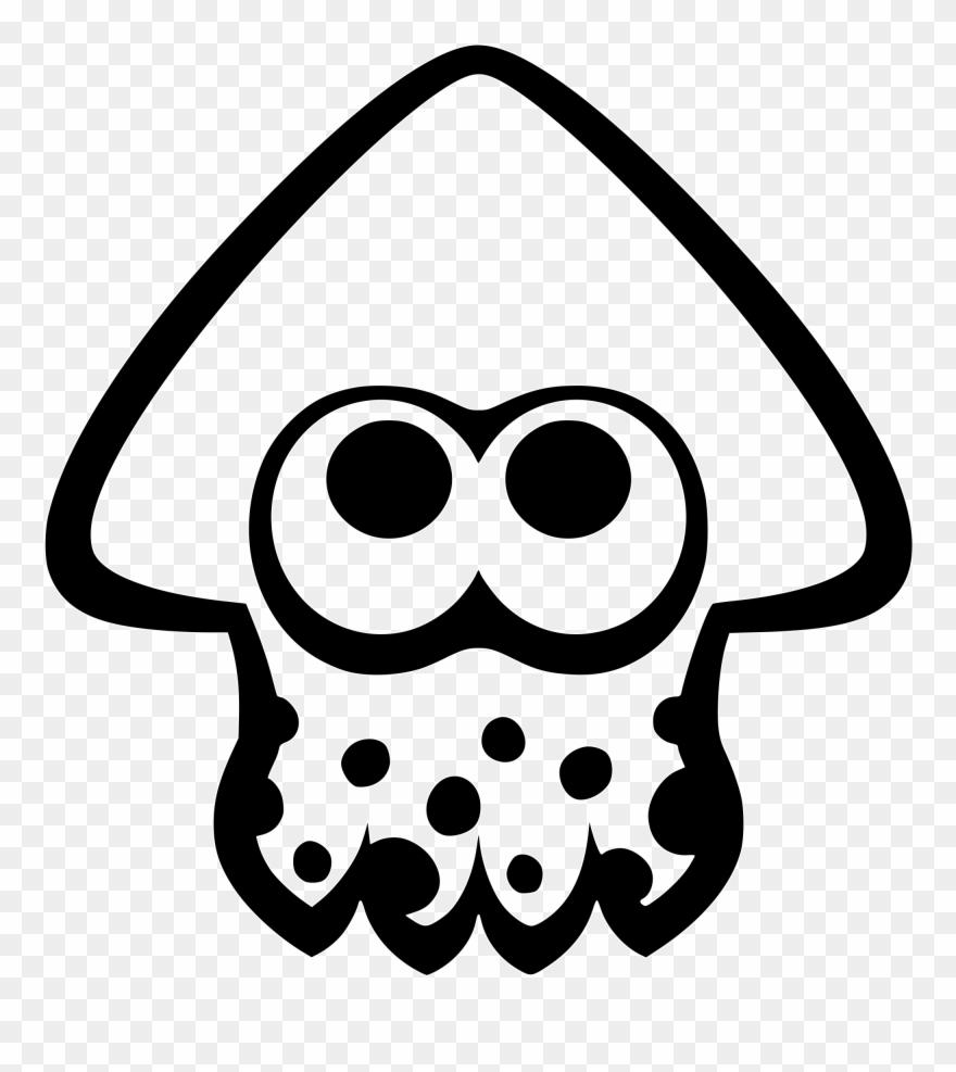 Splatoon Squid Icon Clipart (#806999).