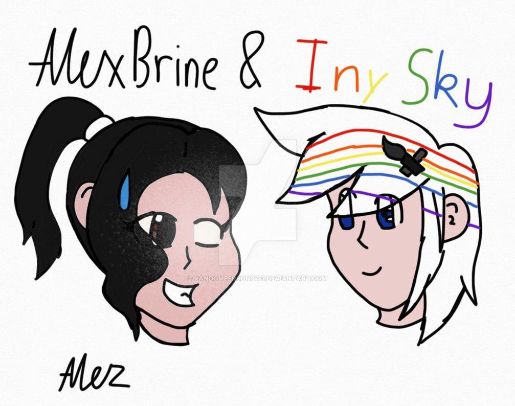 AlexBrine and Inky Sky by RandomPerson3457 on DeviantArt.