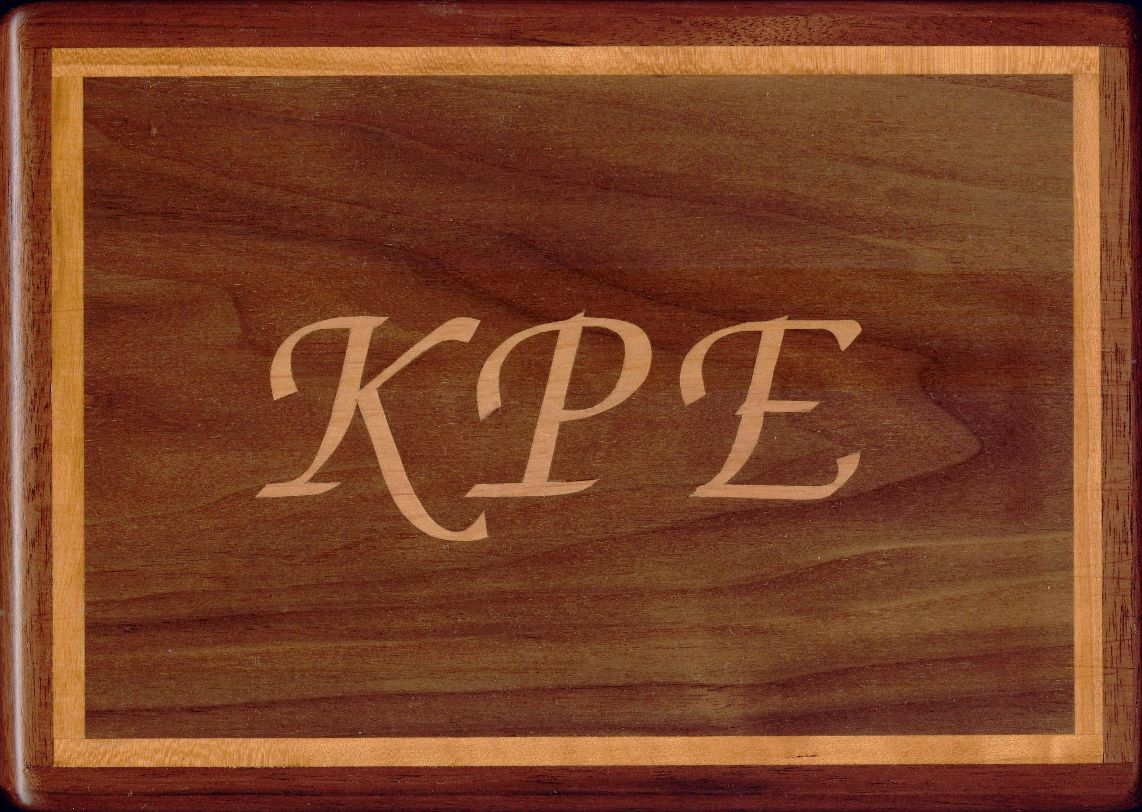 Boxes with Inlaid Letters.