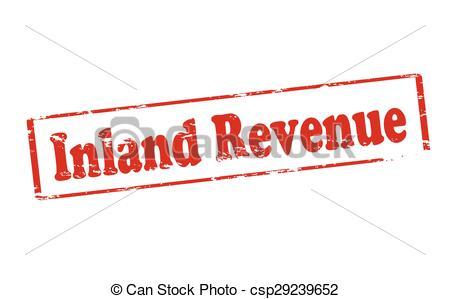 Clipart Vector of Inland revenue.