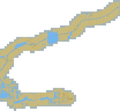 Inland Waterways : 1R5MK029 (Marine Chart : II_1R5MK029.