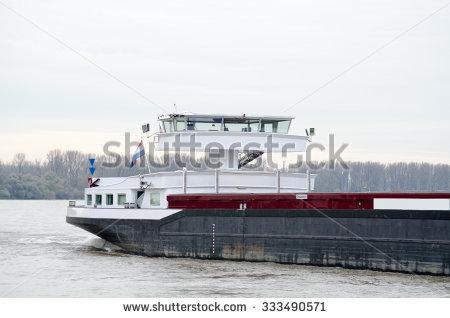 Inland Waterway Shipping Stock Photos, Royalty.
