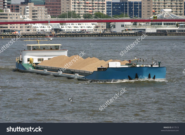 Inland Navigation Vessel Stock Photo 817513 : Shutterstock.