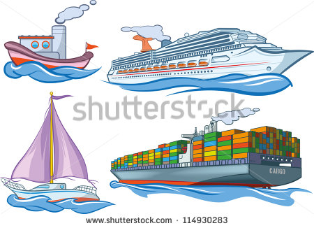 Water Transportation Stock Images, Royalty.