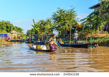Village Inle Lake Stock Photos, Royalty.