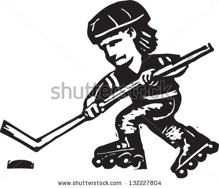 Roller Hockey Stock Photos, Royalty.