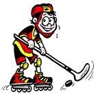Roller Hockey Clipart.