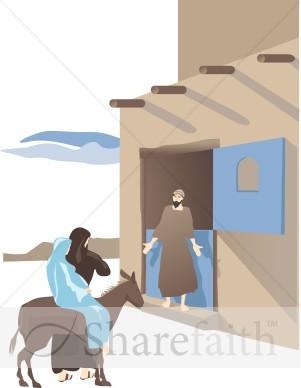 Bethlehem inn clipart.