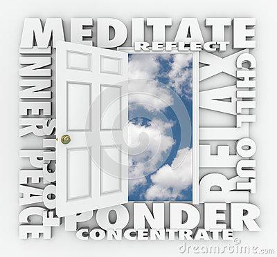 Inner Peace Stock Image.