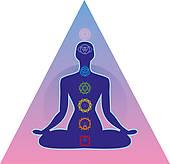 Clipart of Meditation Post.