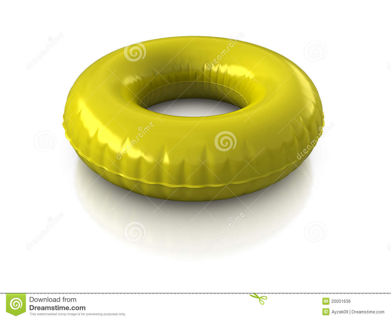 Water Inner Tube Clipart.